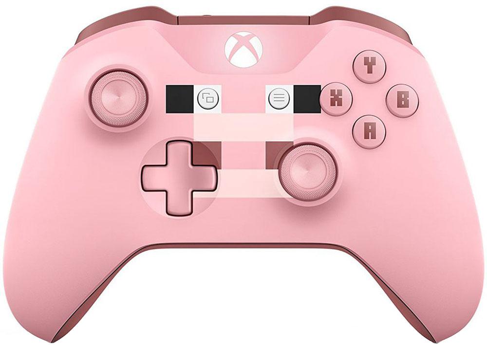 Геймпад Microsoft Xbox One WL3-00053 Minecraft Pig