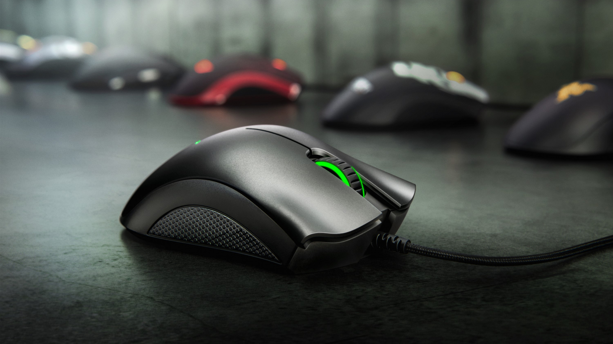 Игровая мышь Razer DeathAdder Essential Black (RZ01-02540100-R3M1)