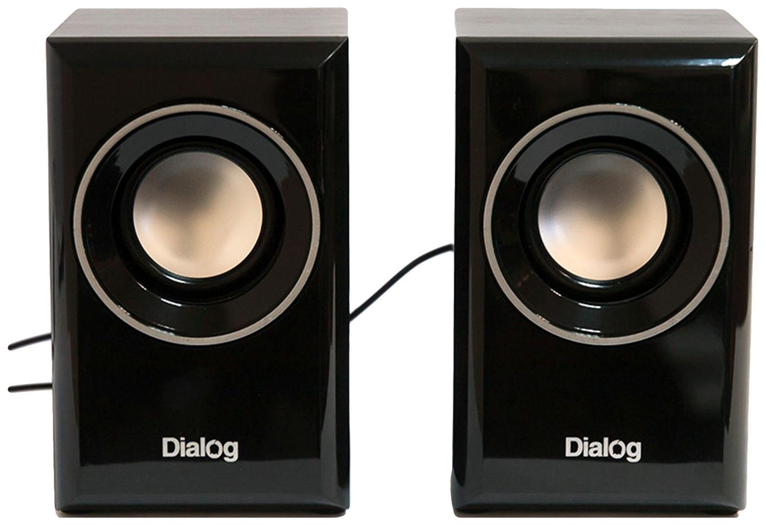 Колонки для компьютера Dialog Stride AST-15UP Черные