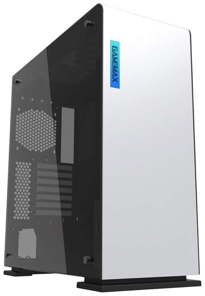 Компьютерный корпус GAMEMAX 9909 Vega без БП white/black