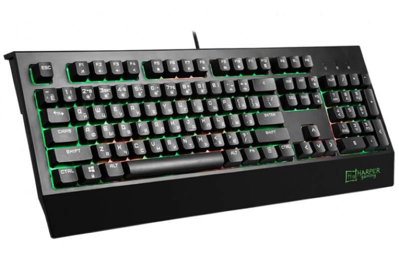 Игровая клавиатура Harper Gaming Typhoon GKB-25 Black
