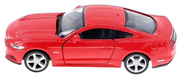 Машина металлическая RMZ City 1:64 Chevrolet Corvette C7 черный матовый 344033SM