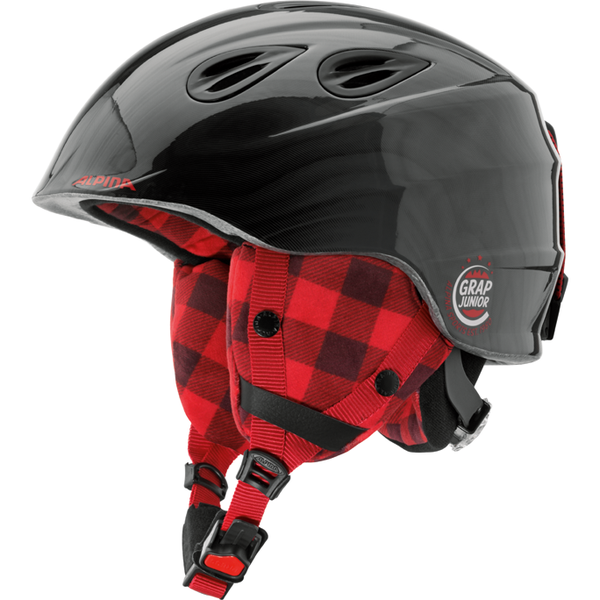 Горнолыжный шлем Alpina Grap 2.0 JR 2019, черный, S