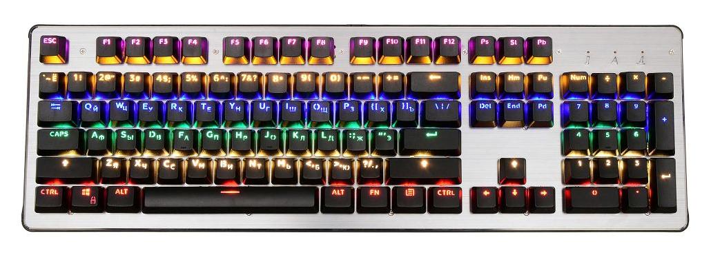 Игровая клавиатура OKLICK 970G Grey