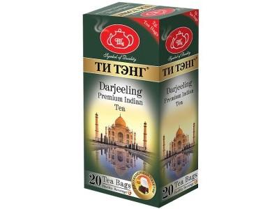 Чай черный в пакетиках для чашки Ти Тэнг Darjeeling 20*2 г