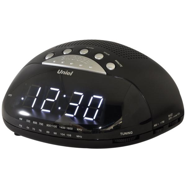 Радио-часы UNIEL UTR-21W Black