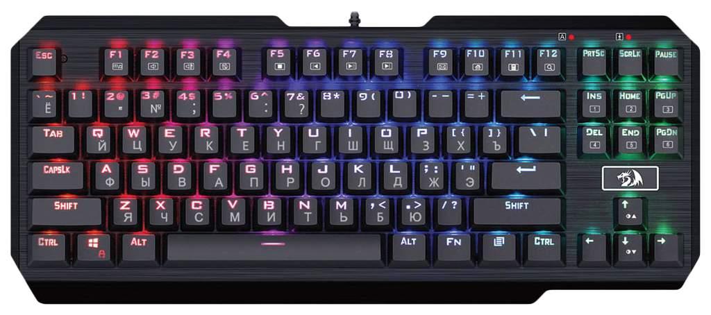 Игровая клавиатура Defender Usas Black (74674)