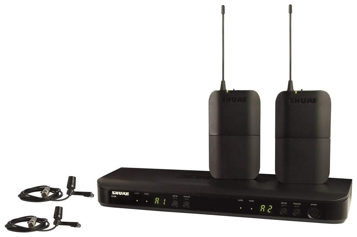 Радиосистема Shure BLX188E/CVL M17