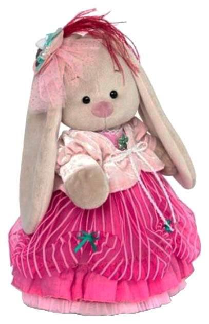 Мягкая игрушка BUDI BASA Зайка Ми Барышня в карамельно-розовом, 32 см