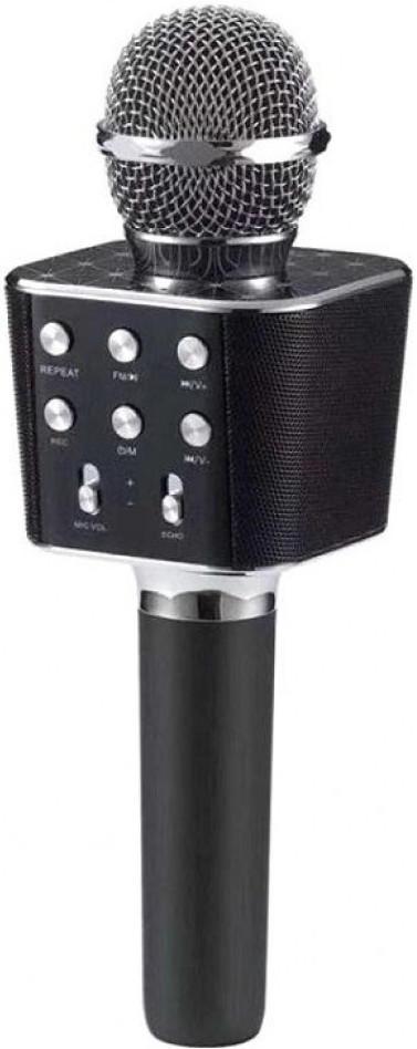Беспроводной караоке-микрофон WS-1688 Black