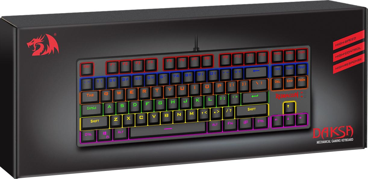Игровая клавиатура Redragon Daksa Black