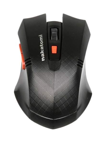 Беспроводная игровая мышь Nakatomi MRON-04UB Black