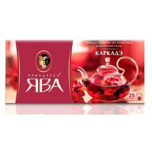 Чайный напиток Принцесса Ява Каркадэ 25 пакетиков