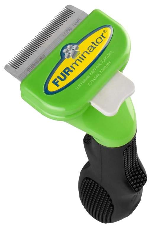 Фурминатор для собак FURminator®, длина шерсти длинная, зеленый