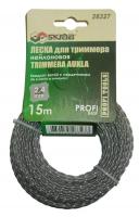Леска для триммера Skrab 2,4 мм/15 м 28327