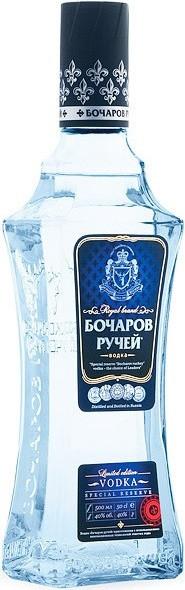 Водка Бочаров Ручей Специальный Резерв 0.5 л