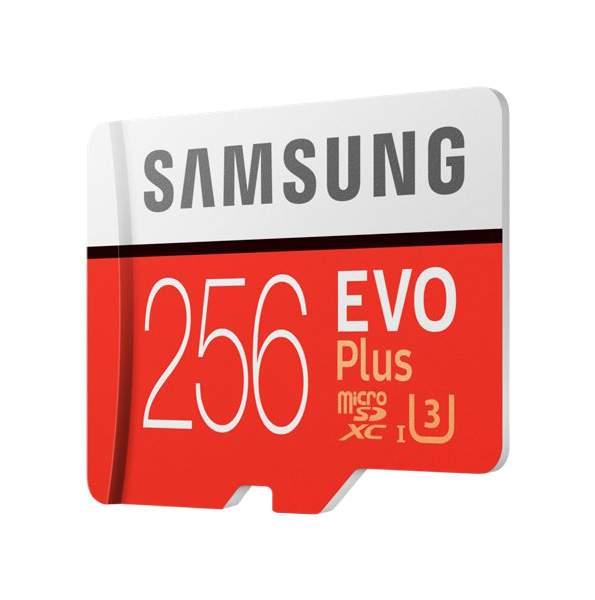 Карта памяти Samsung Micro SDXC EVO Plus MB-MC256 GA/RU 256GB