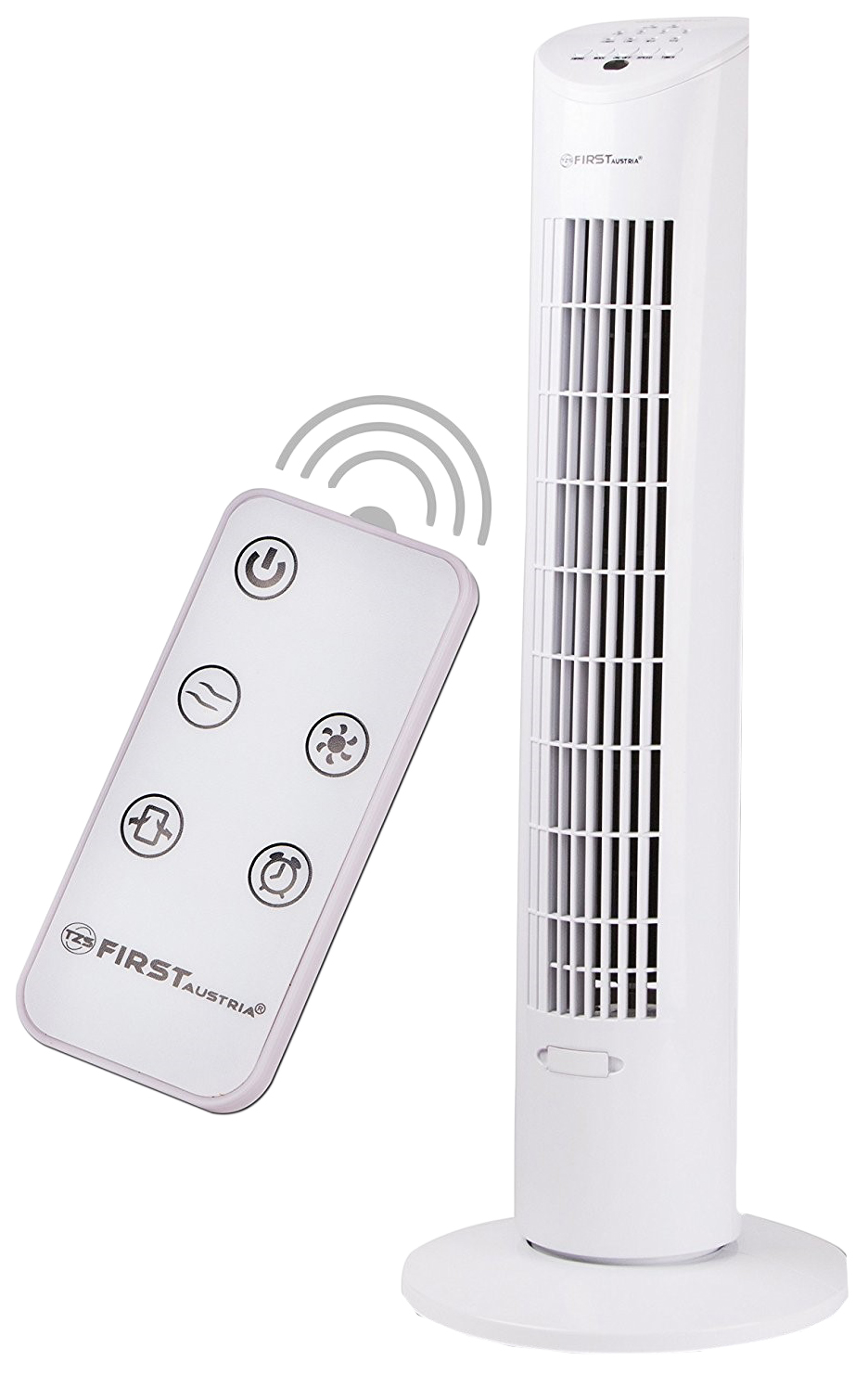 Вентилятор колонный First FA-5560-1 white