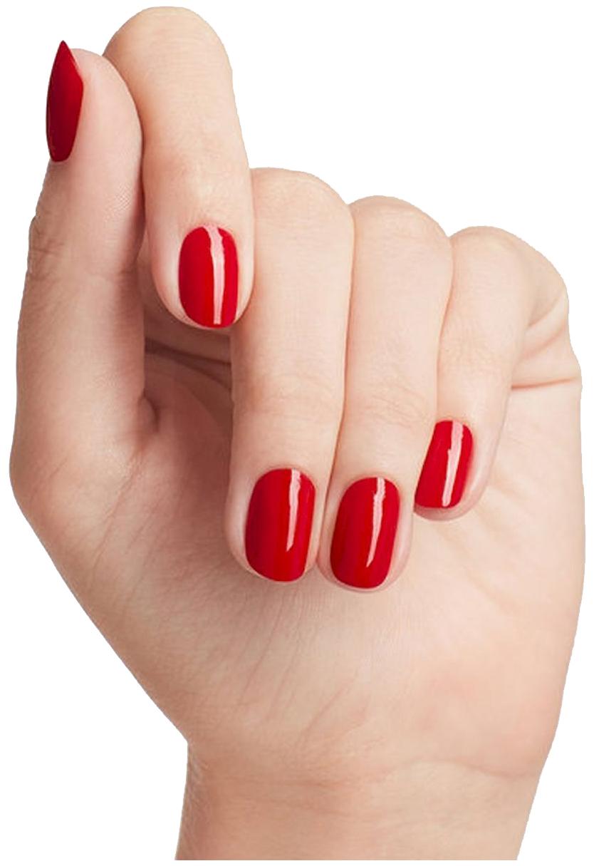 Картинки ногтей с красным лаком