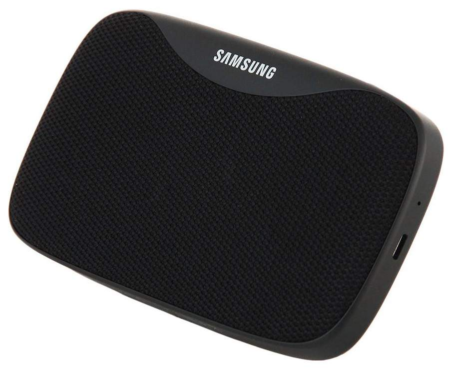 Black SAMSUNG EO-SG930 Level Box Slim 8W Bluetooth Speaker