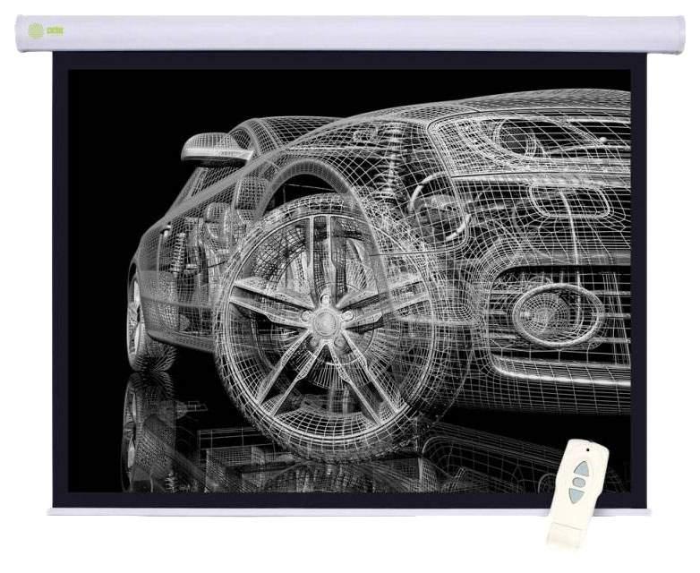 Экран для видеопроектора Cactus Motoscreen CS-PSM-150x150 Белый