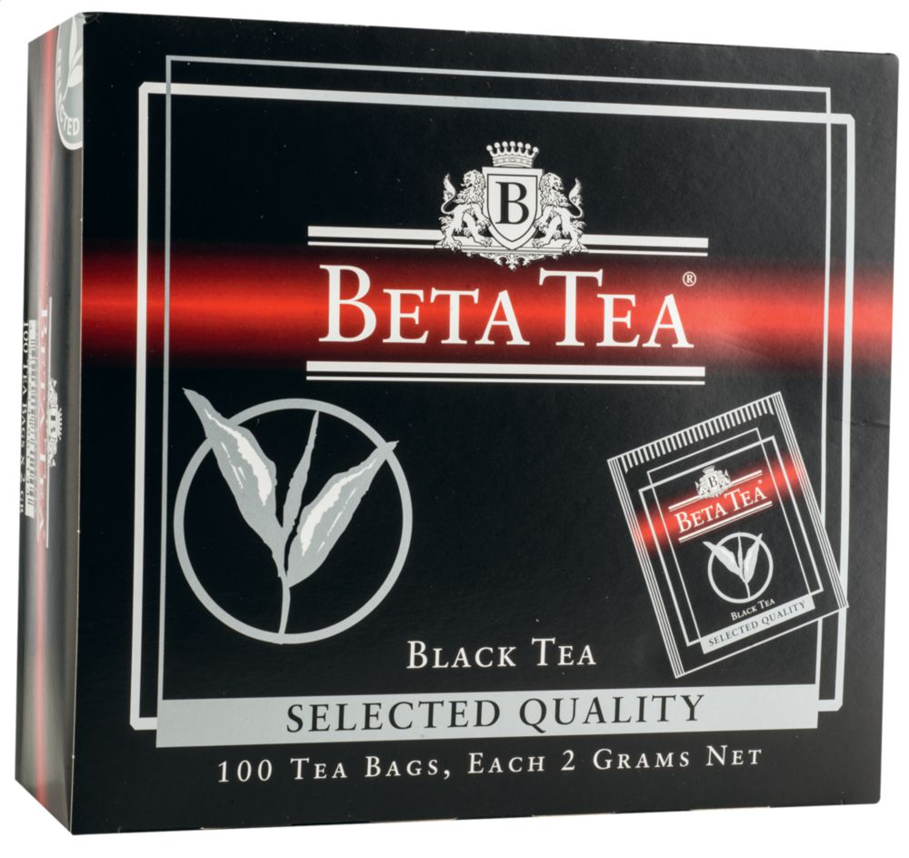 Чай черный Beta Tea selected quality 100 пакетиков