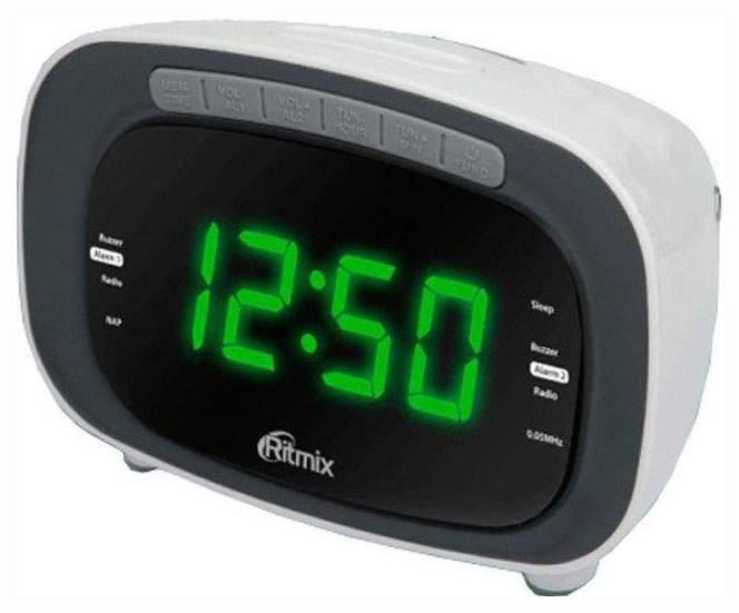 Радио-часы RITMIX RRC-1250 WHITE