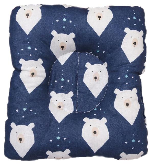 Подушка для кормления и сна AmaroBaby Baby Joy Белые медведи AMARO-40BJ-BM