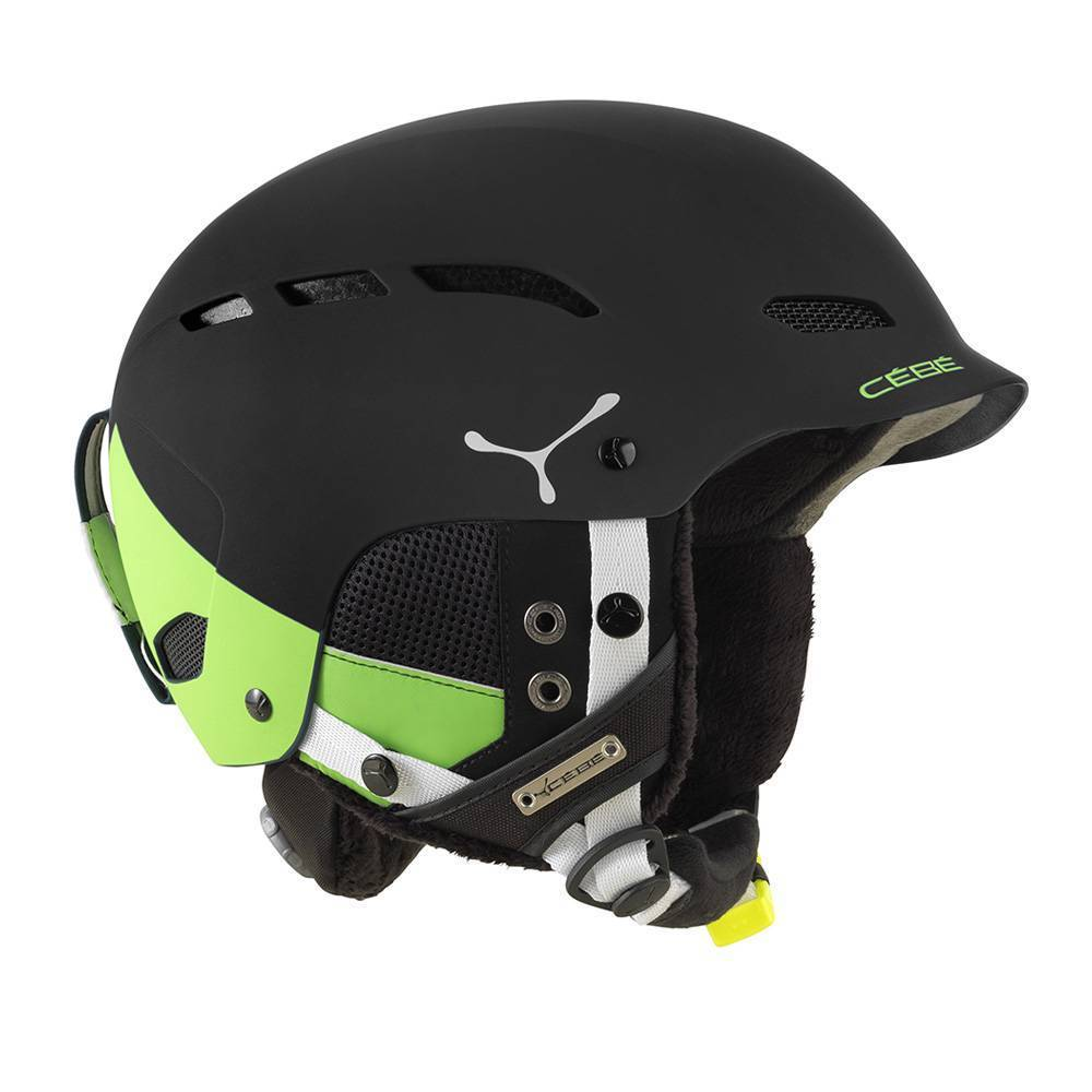 Горнолыжный шлем Cebe Dusk 2018, зеленый/черный, S