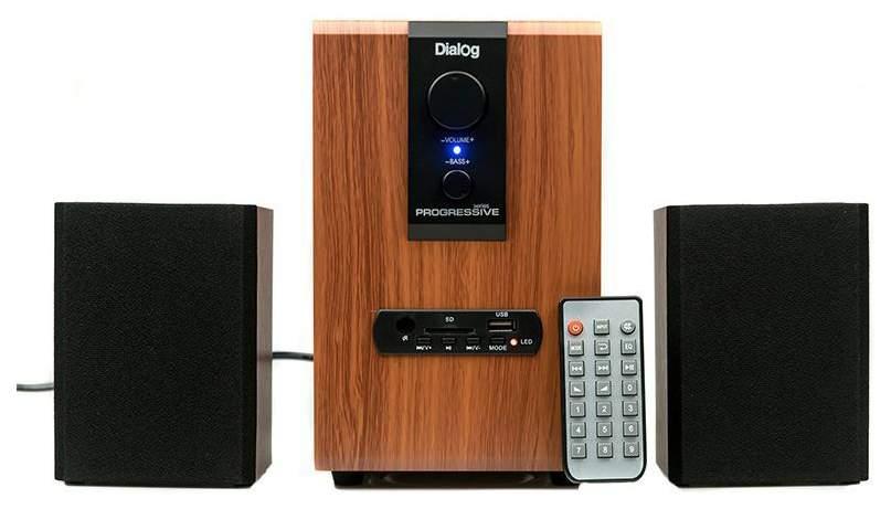 Колонки для компьютера Dialog Progressive AP-150 Коричневые