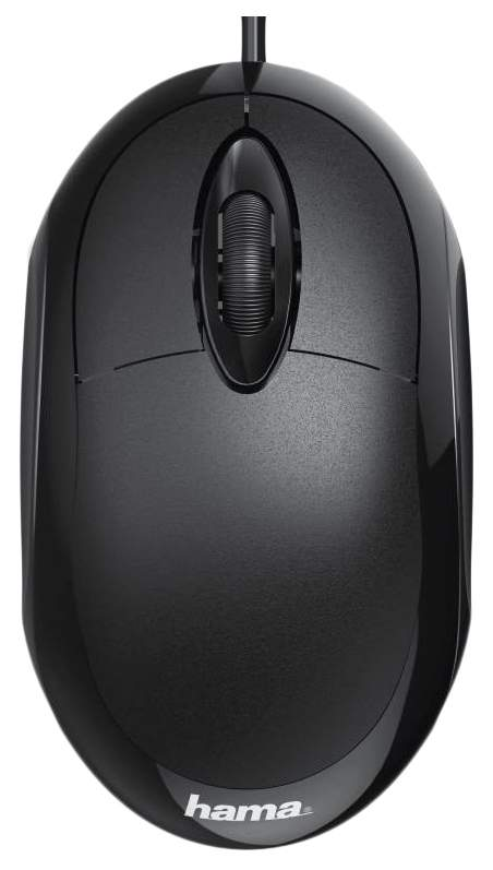 Проводная мышка Hama MC-100 Black (182600)