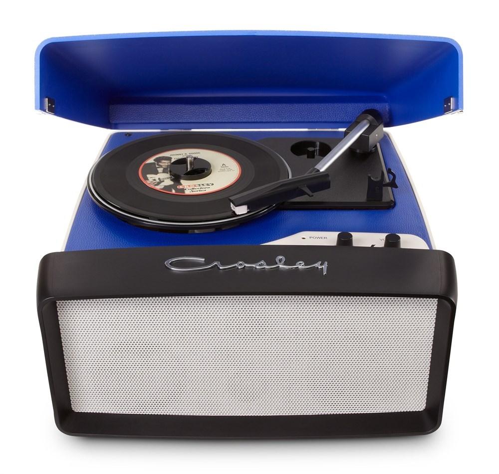 Проигрыватель виниловых пластинок Crosley Collegiate CR6010A-BL Blue