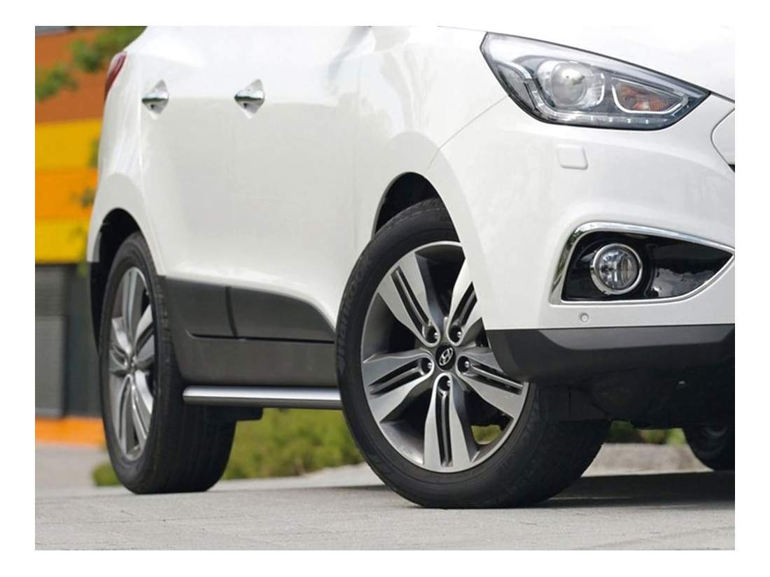 Защита порогов RIVAL для Hyundai (R.2301.006)