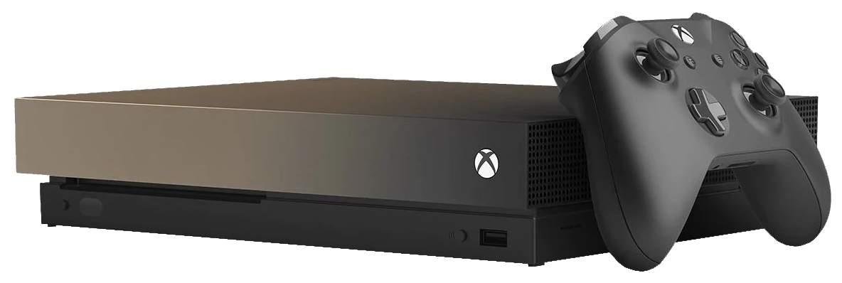 Игровая приставка Microsoft Xbox One X 1Tb CYV-00180 Black + Игра Battlefield V