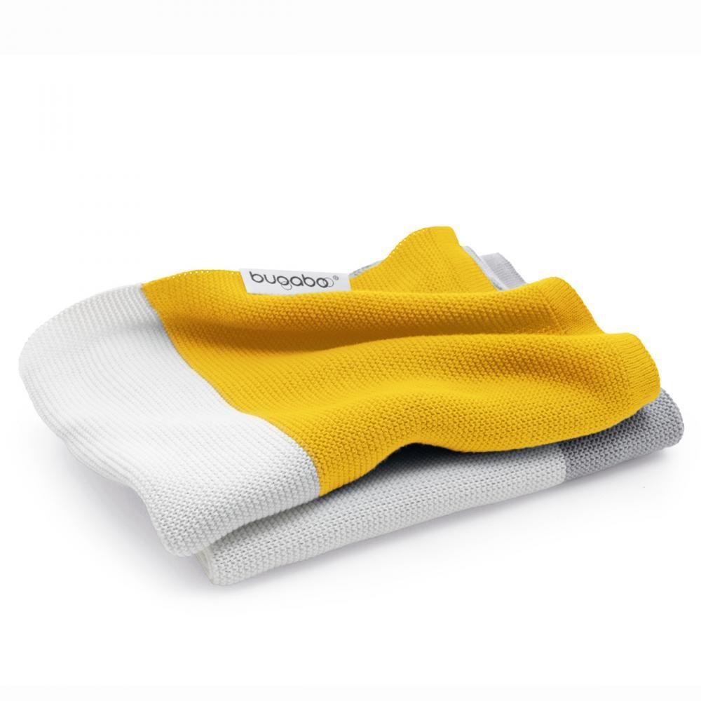 Плед хлопковый Bugaboo bright yellow multi