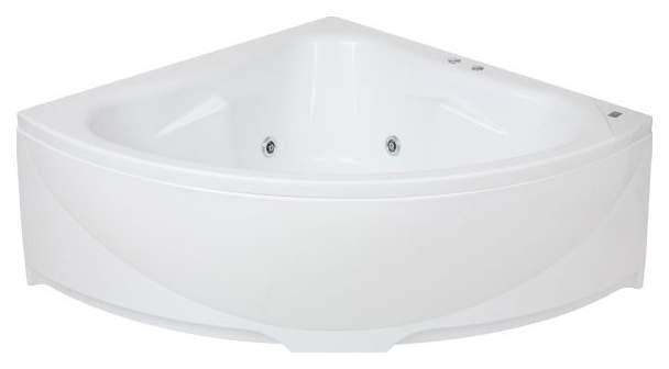 Акриловая ванна BAS Империал 150х150 c гидромассажем