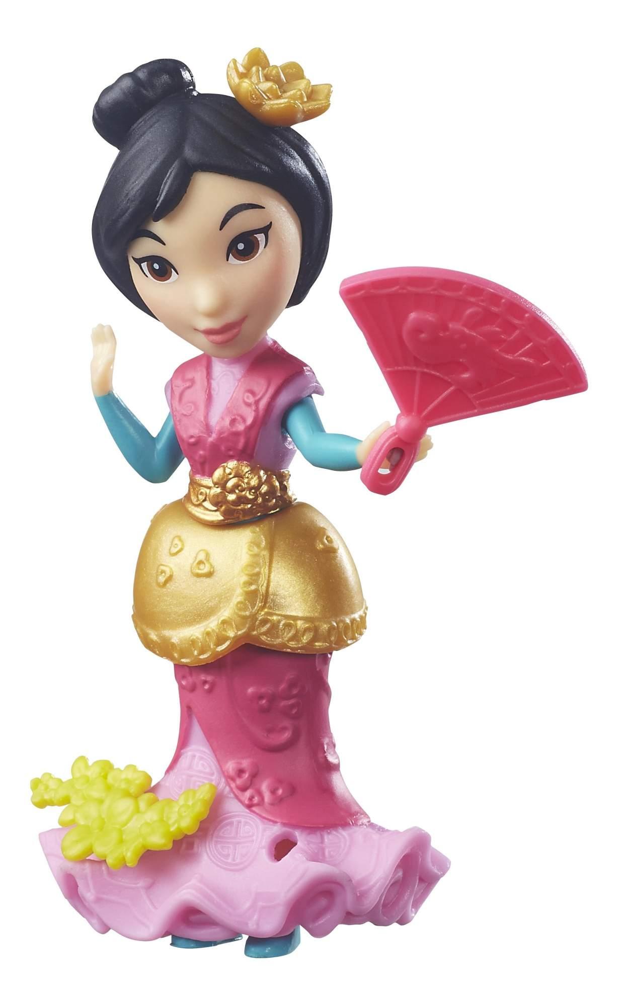 Маленькие куклы принцесс Disney b5321 b7156