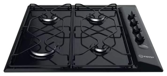 Встраиваемая варочная панель газовая Indesit PAA 642 /I(BK) Black