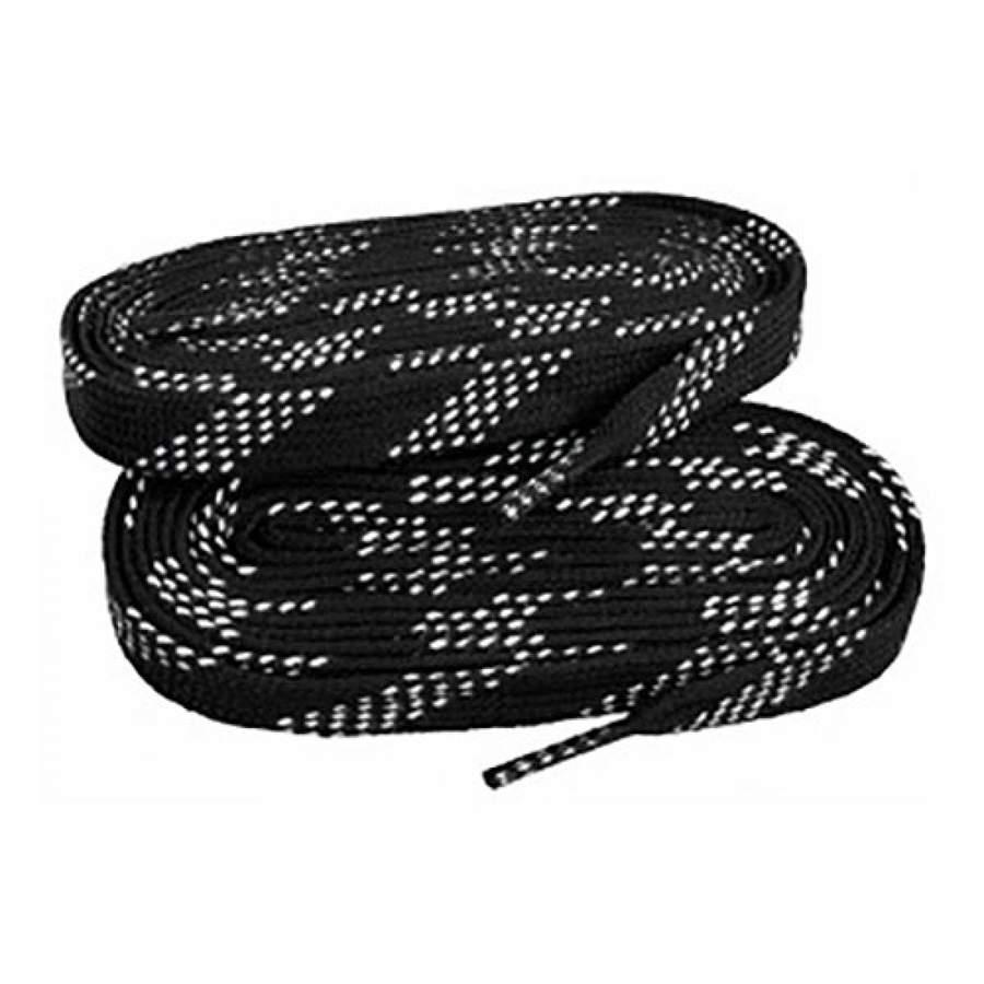 Шнурки для коньков ES 22369305 черные, 3,05 м