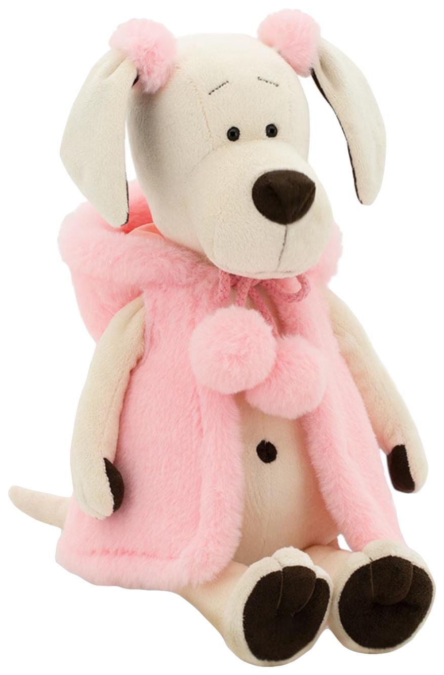 Мягкая игрушка «Собачка Лапуська: Меховой стиль», 25 см Orange