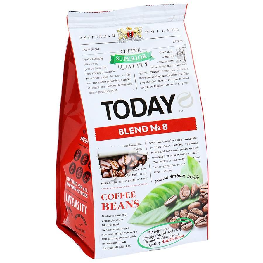 Кофе Today бленд 8 зерно 200 г