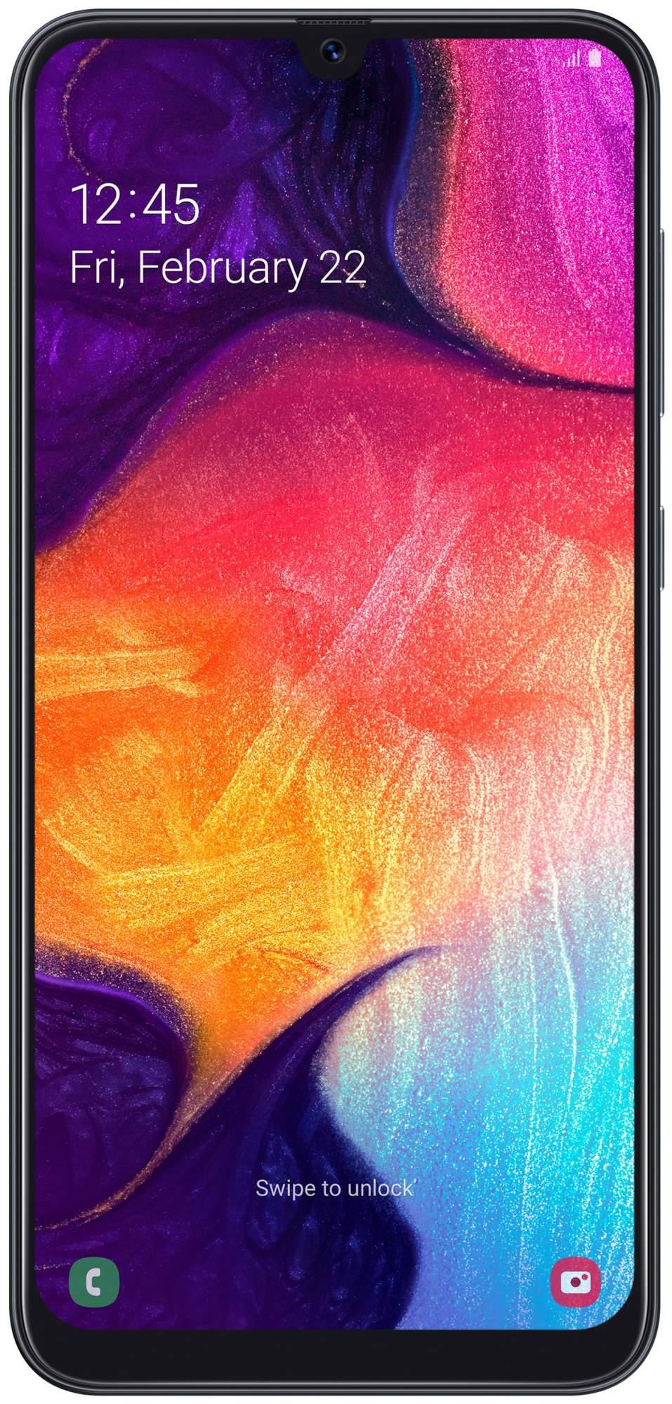 Смартфон Samsung Galaxy A50 (2019) SM-A505F 64Gb Black