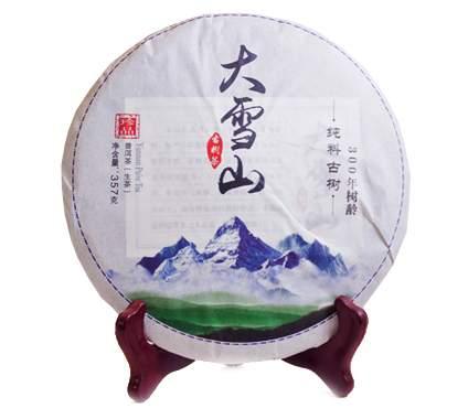 Зеленый чай Шен Пуэр Да Суэ Шань 357 г
