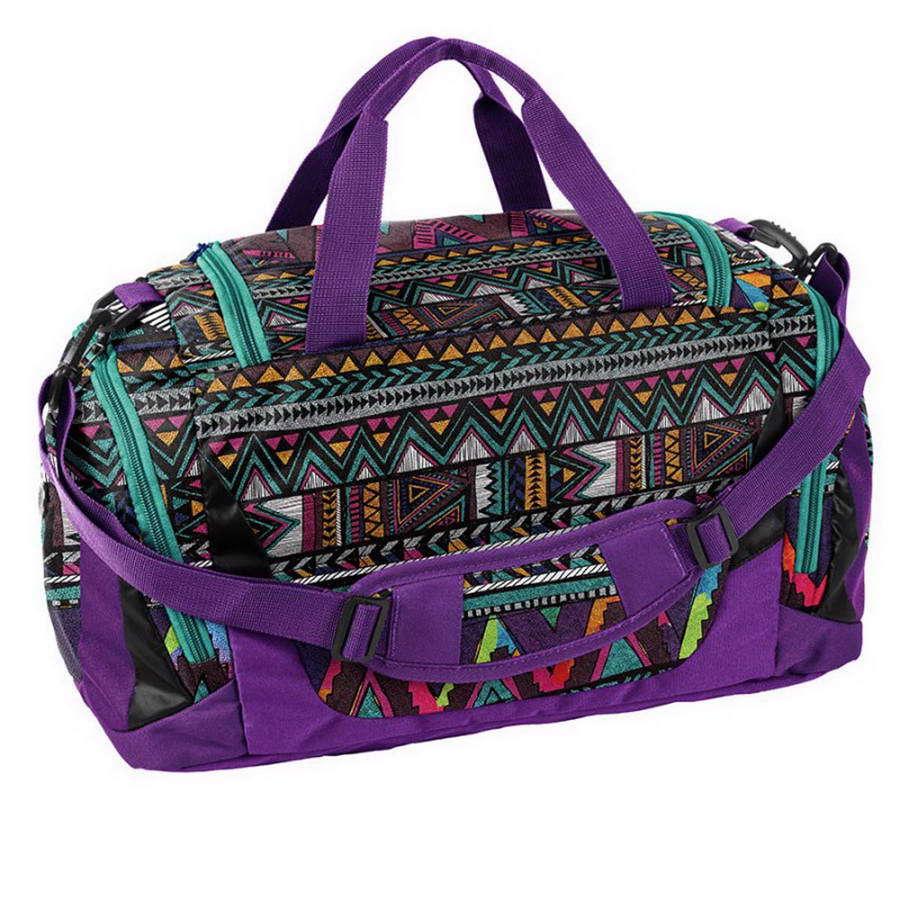 Дорожная сумка Paso Ethnic Ornament Purple 44 x 23,5 x 23