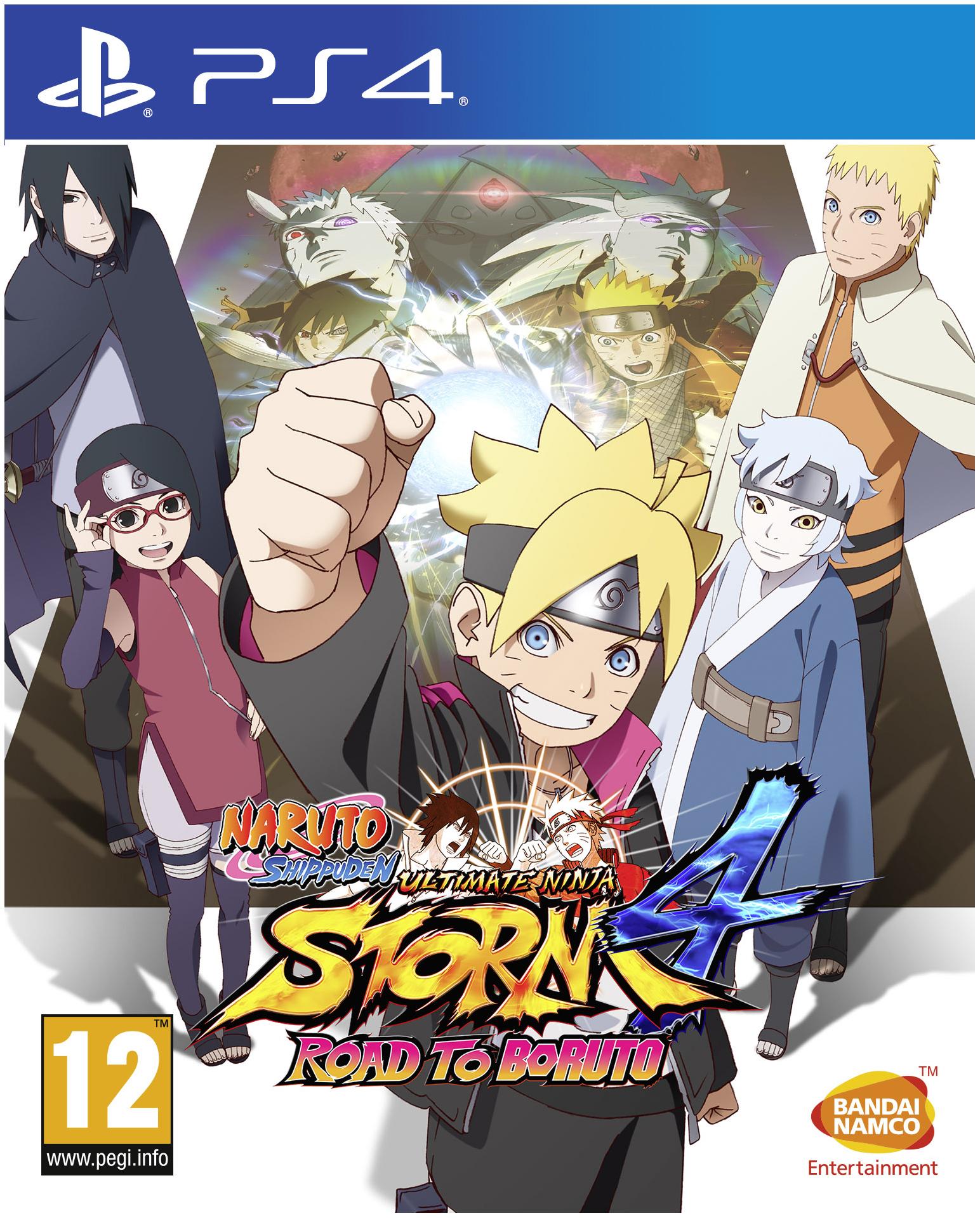 Игра Naruto Shippuden - Ultimate Ninja Storm 4 Road to Boruto для PlayStation 4