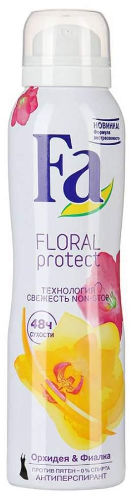 Дезодорант-антиперспирант Fa Floral Protect Орхидея & Фиалка 150 мл