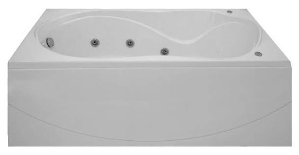 Акриловая ванна BAS Ямайка 180х80 c гидромассажем