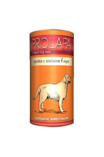 Консервы для собак Prolapa, ягненок, 1240г