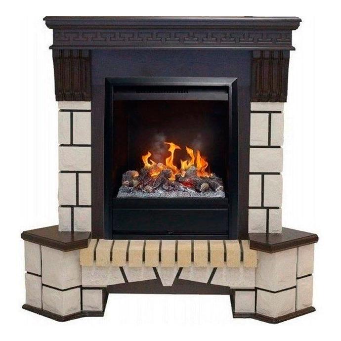 Каминный комплект для дома Real-Flame Stone new STD/EUG с очагом 3D Olympic