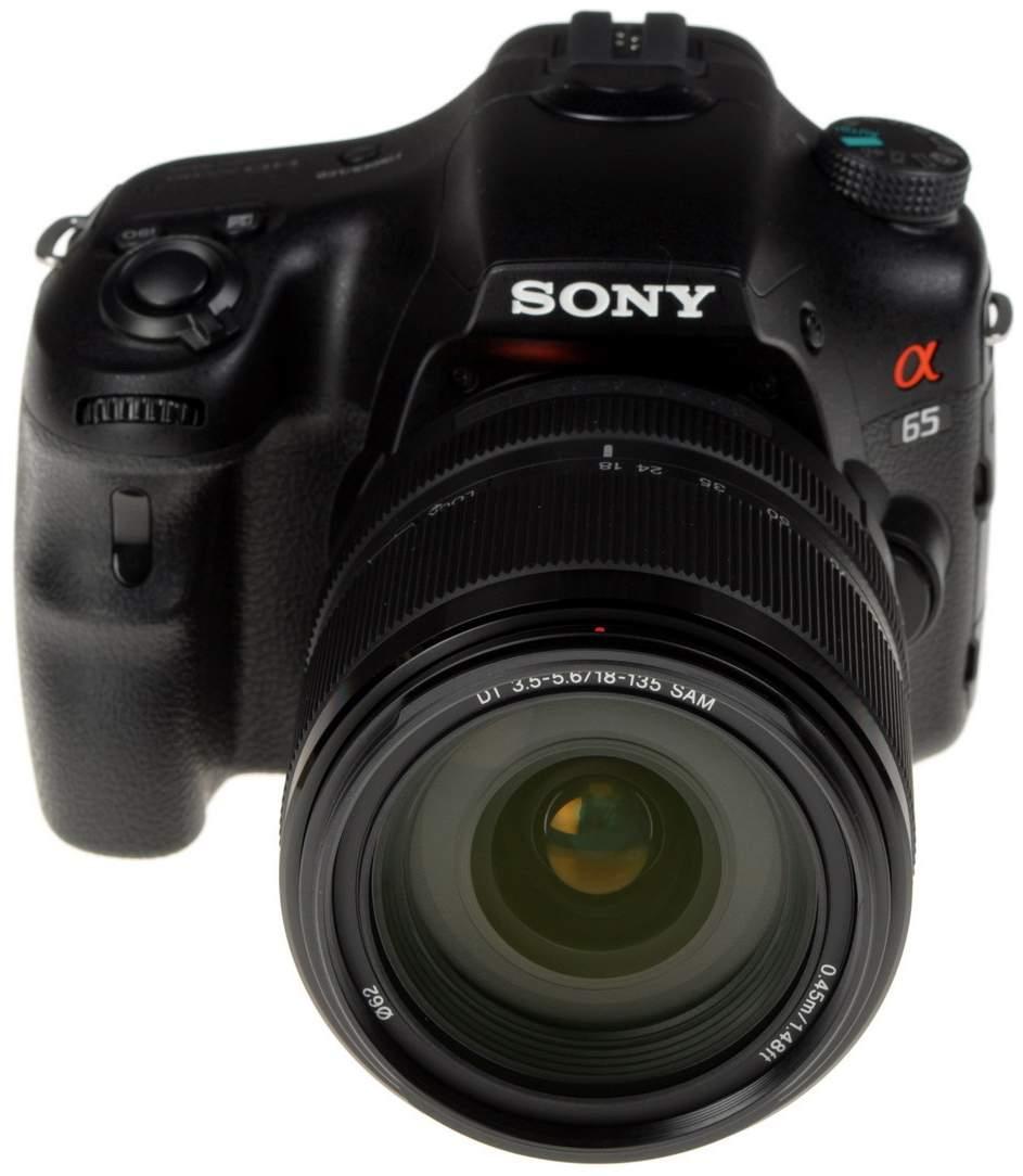 Фотоаппарат цифровой зеркальный Sony Alpha SLT-A65 Kit 18-135 Black